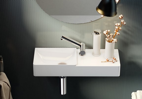 WALL MOUNTED WASHBASINS