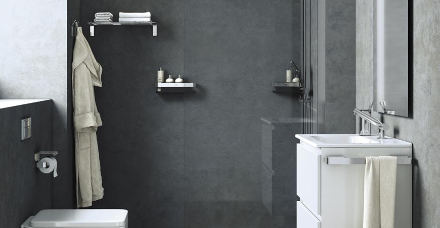 Line: modernes Design für ein modernes Bad - Cosmic